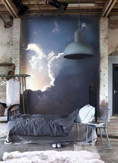 The sky is the limit <3 #houseframe #wallpaper #interiordesign #sky…