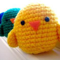Crochet chick pattern