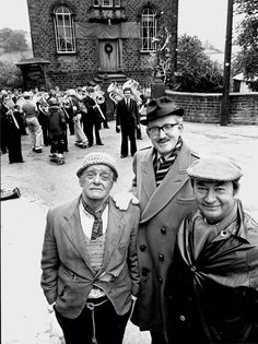 Foggy, Compo and Cleggy British Sitcoms, British Comedy, British History, Comedy Actors, Comedy Show, Actors & Actresses, Classic Comedies, Classic Movies, Last Of Summer Wine