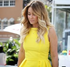 Get Lauren Conrad's Long Layers & Blonde Ombre Hair NYC NYC Cosmetology i her dress! Fashion Mode, Love Fashion, Fashion Beauty, Womens Fashion, Beach Fashion, Cute Dresses, Short Dresses, Summer Dresses, Dresses 2013
