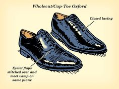 A hierarchy of the common dress shoe styles, ranked from most dressy to least, what defines them as such, and a few outfit options for each. Blue Dress Shoes, Slip On Dress Shoes, Office Fashion Women, Mens Fashion, Fashion Tips, Simple Shoes, Prom Shoes, Men's Shoes, Men Style Tips