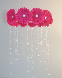 Hey, I found this really awesome Etsy listing at https://www.etsy.com/listing/194797121/pink-baby-mobile-baby-girl-mobile-pink