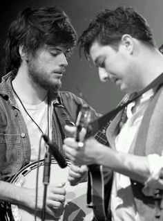 Mumford and Sons... That Banjo makes me swoon everytime.