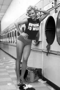 nothing to wear black and white #laundry