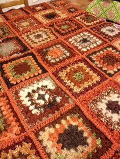 Kristina's crocheted squares