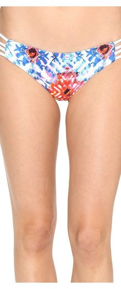 L*Space Kaleidoscope Dreams Low Down Classic Bottom (White) Women's Swimwear - L*Space, Kaleidoscope Dreams Low Down Classic Bottom, KD28C17-100, Apparel Bottom Swimwear, Swimwear, Bottom, Apparel, Clothes Clothing, Gift - Outfit Ideas And Street Style 2017