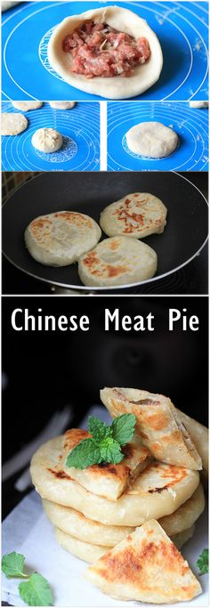 Chinese Meat Pie (Xian Bing) 丨ChinaSichuanFood.com