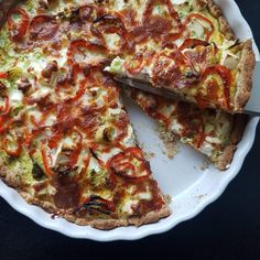 Inspiration til sunde opskrifter - 45 lækre og sunde opskrifter. Vegetable Pizza, Food Porn, Healthy Recipes, Dishes, Desserts, Braids, Inspiration, Tailgate Desserts, Biblical Inspiration