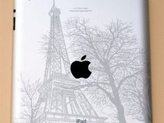Eiffel Tower iPad engraving by In A Flash Laser. I so wanna do this to my ipad Daft Punk, Grabar Metal, Metal Engraving, Engraving Ideas, Computer Gadgets, Apple Products, Paris, Computer Accessories, Tech Accessories