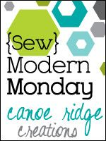 {Sew} Modern Monday button by canoeridgecreations, via Flickr