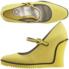 Love these! Isabel Toledo for Payless.