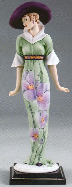 "Spring Flowers by Giuseppe Armani, #2077-C.  From the My Fair Ladies Collection.  13½"" tall, $928 at annettesofrueroyal.com"