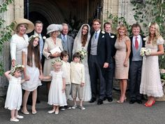 Red Carpet Wedding: Mary-Clare Winwood and Ben Elliot ~ Red Carpet Wedding