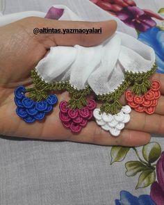 Crochet Borders, Crochet Blanket Patterns, Making Fabric Flowers, Needle Lace, Crochet Flowers, Cute Drawings, Embroidery Designs, Crochet Earrings, Diy