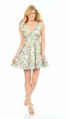 Fashion woman summer drees