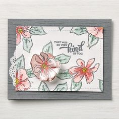Penned & Painted Photopolymer Stamp Set