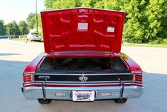 1967 Chevrolet Chevelle SS For Sale   AllCollectorCars.com Chevelle Ss For Sale, 1967 Chevy Chevelle, Big Show, Top Cars, New Carpet, Super Sport, Red Paint, Get Directions, Rear Seat