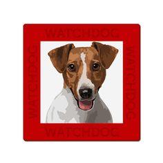 Jack Russel Terrier dog sign plate van watch4dogz op Etsy