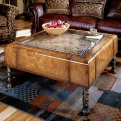 Exceptionnel Butler Heritage Clock Coffee Table