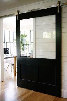fabriquer-porte-coulissante-en-bois-avec-vitre.jpg (378×567)