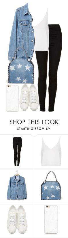 """""""Untitled #2835"""" by elenaday ❤ liked on Polyvore featuring Topshop, Gap, STELLA McCARTNEY and Yves Saint Laurent"""