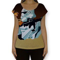 Conheça a camiseta fullprint Acorda, Força! na nossa loja! www.loja.saladadecinema.com.br