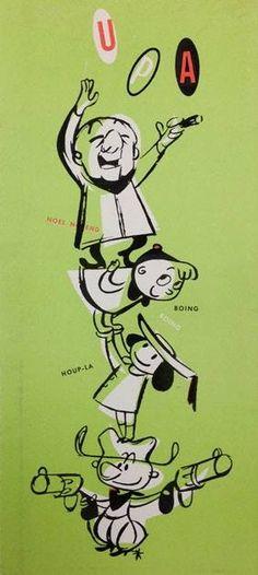 UPA #MisterMagoo #GeraldMcBoingBoing #Madeline