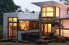 Modern/Rustic Eco House