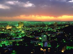 Bloemfontein in Orange Free State South Africa South Africa Tours, Free State, Night Photos, Capital City, So Little Time, City Photo, Tourism, Photo Galleries, Beautiful Places