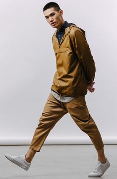 Our favorite look from the Publish x JackThreads Transcend Collection: Tan on tan with some key layers (and next-level hem lines) to break it up...