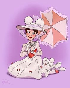 Mary Poppins is the latest Mickey Ears piece! She always been one of my favorites! by Dylanbonner