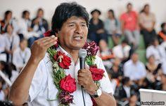 Bolivia daría tercer mandato a Evo Morales