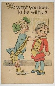 """Suffragette Postcard """"We want you men to be with us"""" Children BS series History Teachers, Us History, Women In History, Virginia Studies, Women Right To Vote, Suffrage Movement, Suffragettes, Season Of The Witch, History Projects"""