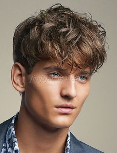 kócos férfi frizurák - kócos férfi frizura
