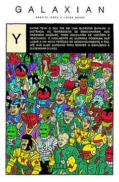 GALAXIAN Y - Gabriel Góes #illustration
