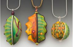 Sarah Shriver's BIG BEADS class held at the Orlando Clay Fandango May1-5 2014 also wonderful classes with Lisa Pavelka and Doreen Kassel! ~My dream vacation!