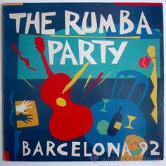 PERET+LOS MANOLOS+LOS AMAYA – THE RUMBA PARTY BARCELONA 92 – LP SPAIN 1992 – ARIOLA 74321115651