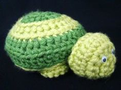 Free Crochet Toddler Turtle Pillow Pattern