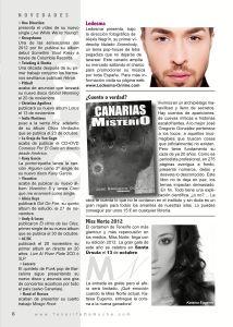 Reseña en la revista Tenerife de Noche