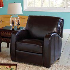 This is the recliner I like for the living room too... getting two of these for either side of the couch.