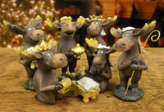 Moose Nativity Set | American Expedition