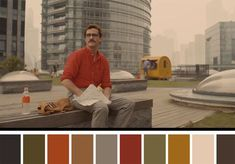 50 Iconic Films and Their Color Palettes