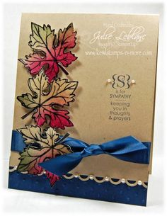 Gently Falling by djudju72 - Cards and Paper Crafts at Splitcoaststampers