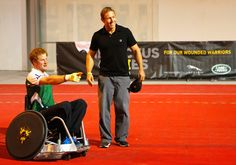 Prince Harry Photos - Invictus Games: Exhibition Wheelchair Rugby Training - Zimbio