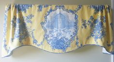 Window Valance / Lined Valance / Rod Pocket by DesignAndDecor1004