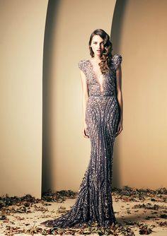 Ziad nakad Beautiful sequin dress Gatsby fashion