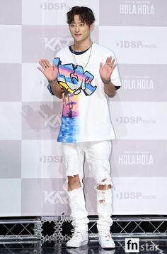 Kard - J.Seph at the Hola Hola debut conference K Pop, Hyuna Red, Kard Bm, Black Joker, Rapper, Reason To Breathe, Dancehall, Hip Hop, His Jeans