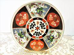 Plate Asian Imari Porcelain Fine Bone China Rickshaw Vintage by PorcelainChinaArt on Etsy