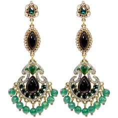 Rental Badgley Mischka Jewelry Entrancing Emerald Earrings (305 MXN) ❤ liked on Polyvore featuring jewelry, earrings, green, badgley mischka earrings, earring jewelry, emerald green earrings, emerald earrings and green jewelry