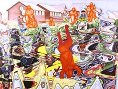 Jin Meyerson - Steeple Chase Steeple Chase, Composition Art, 4th November, Hermitage Museum, Saatchi Gallery, Royal Academy Of Arts, Usa Today, American Art, Online Art